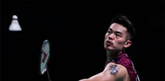 Lin Dan advances to Thailand Masters second round. (photo: AFP)