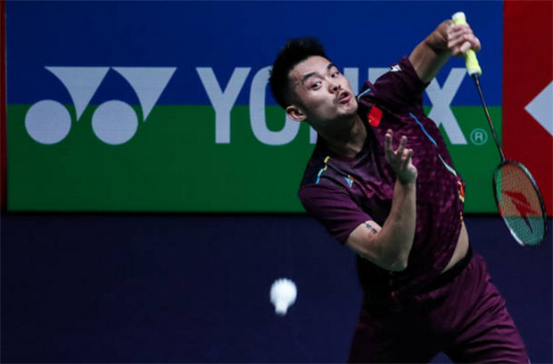 Lin Dan has been playing rubber games in every match since the first round at the 2019 Thailand Masters. (photo: AFP)