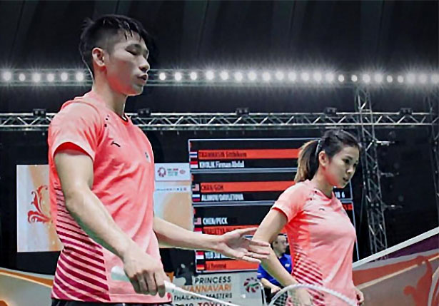 Chan Peng Soon/Goh Liu Ying continue their strong week at Malaysia Masters. (photo: Goh Liu Ying's Facebook)