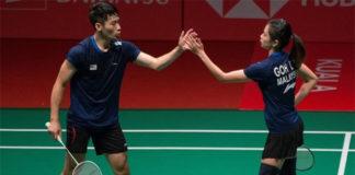 Chan Peng Soon/Goh Liu Ying hold off Goh Soon Huat/Shevon Jemie Lai 22-20, 22-20 to advance to Malaysia Masters semis. (photo: Bernama)