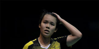 Goh Jin Wei is slowly getting used to the senior level competition. (photo: Bernama)
