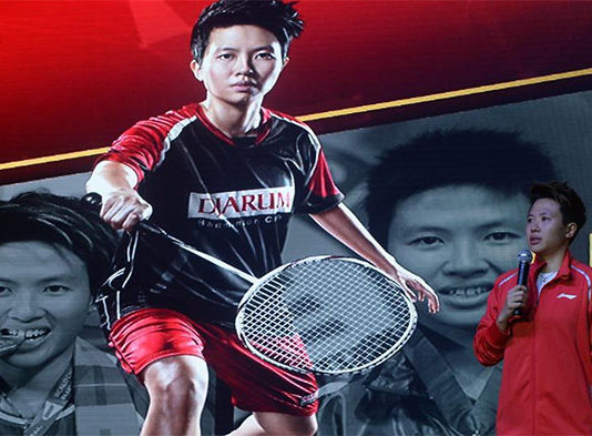 Wish Liliyana Natsir all the best as she is transitioning into new chapters in her life. (photo: Xinhua)