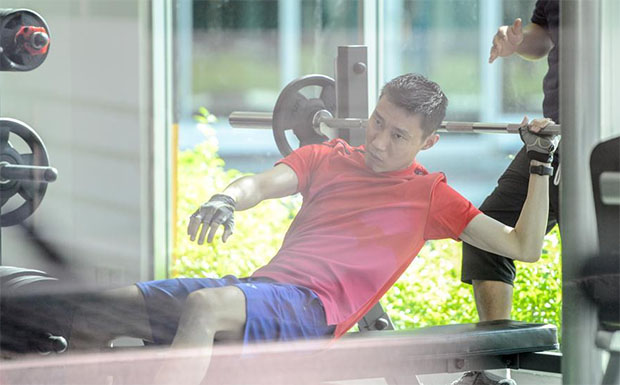 Lee Chong Wei is a great fighter and he is coming back! (photo: Xinhua)