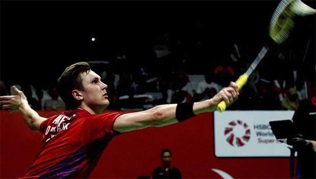 Viktor Axelsen advances to Barcelona Spain Masters second round. (photo: Xinhua)