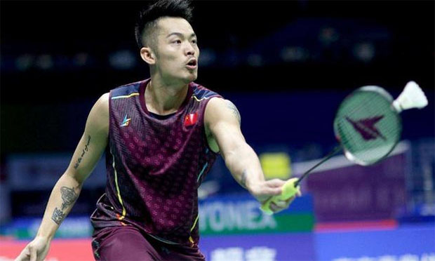 Lin Dan is trying to revive his struggling badminton career. (photo: AFP)