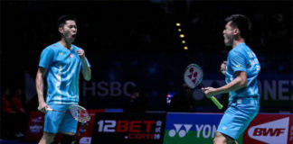 Goh V Shem/Tan Wee Kiong enter 2019 All England quarter-finals. (photo: Shi Tang/Getty Images)