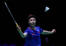 It's going to be interesting to see how will Shi Yuqi fare in the All England semi-finals against Viktor Axelsen. (Photo by Shi Tang/Getty Images)