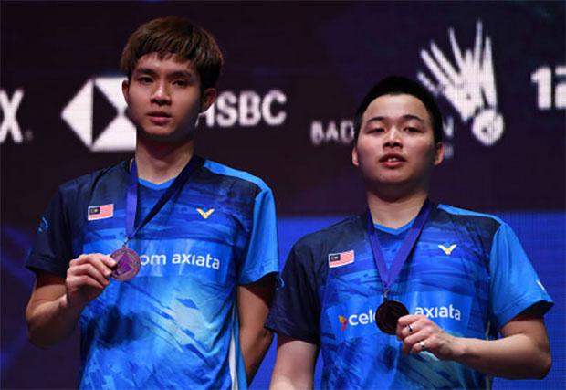 Good job to Aaron Chia/Soh Wooi Yik at All England final! (photo: AFP)