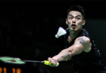 Lin Dan remains on course for success at Swiss Open. (photo: AFP)