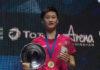 2019 All England semi-final: Chen Yufei vs. Tai Tzu Ying