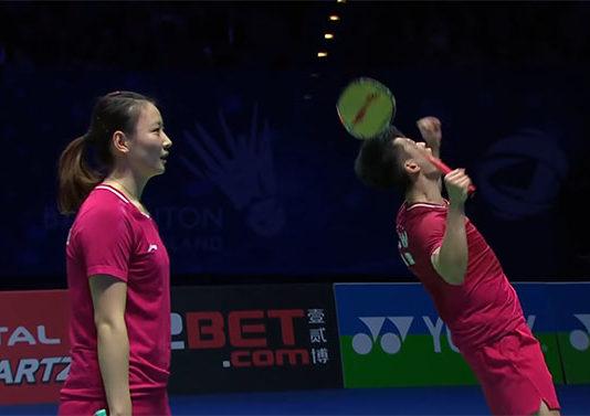 2019 All England final: Zheng Siwei/Huang Yaqiong vs. Yuta Watanabe/Arisa Higashino