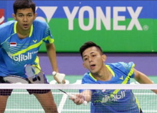 Fajar Alfian/Muhammad Rian Ardianto proving very solid for Indonesia in the men's doubles department. (photo: PBSI)