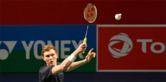 Viktor Axelsen looks to win his second title of 2019 in the India Open final. (photo: Sajjad Hussain/Afp/Getty Images)