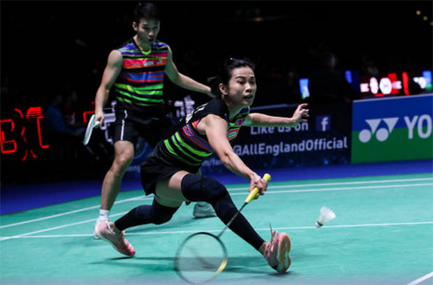 Chan Peng Soon/Goh Liu Ying to face their first real test in the Malaysia Open quarter-final against Wang Yilyu/Huang Dongping of China. (photo: Shi Tang/Getty Images)
