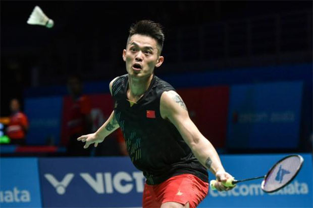 Lin Dan is still going strong at 2019 Malaysia Open. (photo: Xinhua)