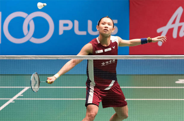 Tai Tzu Ying defeats Chen Yufei to reach Malaysia Open final. (photo: AFP)