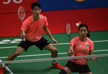 Chan Peng Soon/Goh Liu Ying have to overcome their fellow Malaysians in order to qualify for their third consecutive Olympic Games. (photo: Bay Ismoyo/Afp/Getty Images)