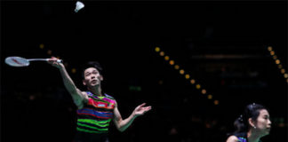 Chan Peng Soon/Goh Liu Ying are one win away from claiming the New Zealand Open title. (photo: Shi Tang/Getty Images)