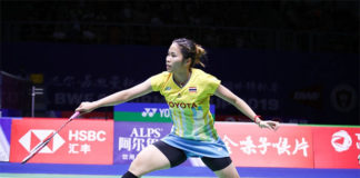 Ratchanok Intanon's heroine act helps propel Thailand into the 2019 Sudirman Cup semi-final. (photo: Osport)