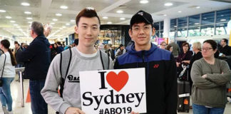 Really exciting to see Lee Yong Dae/Yeon Seong start playing together again. (photo: Australian Open)