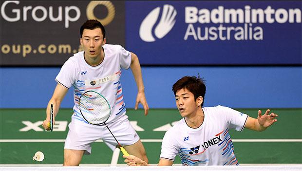 Lee Yong Dae/Yoo Yeon Seong enter the main draw of Australian Open. (photo: australianbadmintonopen.com.au)
