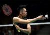 Lin Dan suffers a quarter-final defeat at the Australian Open. (photo: AFP)