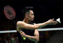 Lin Dan suffers a quarter-final defeat at the Australian Open. (photo: AFP)