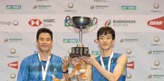 Winning the 2019 Australian Open is a huge motivation for Ko Sung Hyun/Shin Baek Cheol. (photo: Australian Badminton Open)