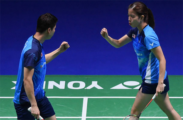 Goh Soon Huat/Shevon Jemie Lai are optimistic about return to competition this season. (photo: AFP)