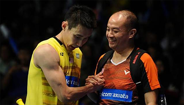 Malaysian players have a great deal of respect for Hendrawan (R). (photo: Bernama)