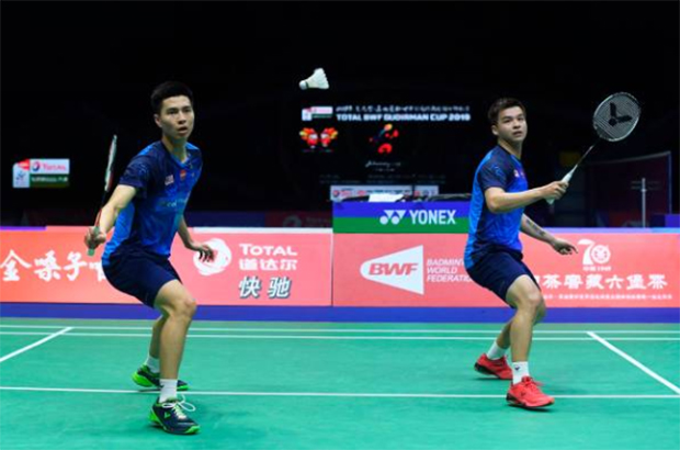 Wish Teo Ee Yi/Ong Yew Sin good luck at the 2019 Indonesia Open. (photo: AFP)