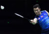 Lee Zii Jia to battle Chen Long in Indonesia Open second round. (photo: Wang Zhao/AFP/Getty Images)