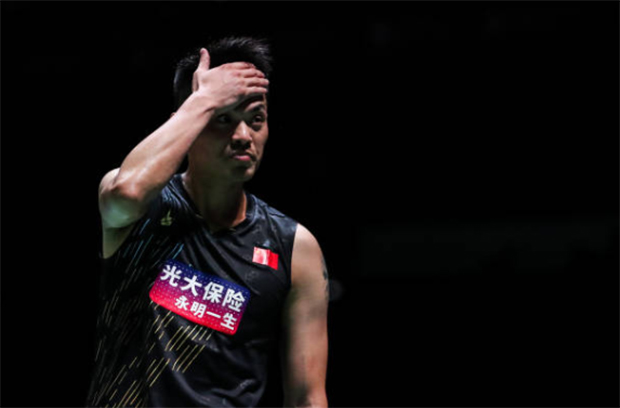 Lin Dan suffers a first round exit at the 2019 Japan Open. (photo: Shi Tang/Getty Images)