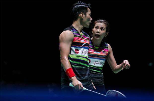 Wish Chan Peng Soon/Goh Liu Ying good luck in the Japan Open semi-final. (photo: Shi Tang/Getty Images)