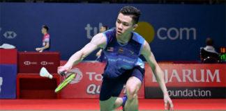 Lee Zii Jia enters 2019 Thailand Open quarter-finals. (photo: AFP)