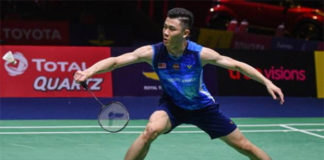 Lee Zii Jia eyes strong chance of advancing to 2019 World Championships quarter-finals. (photo: Chalinee Thirasupa/AFP/Getty Images)