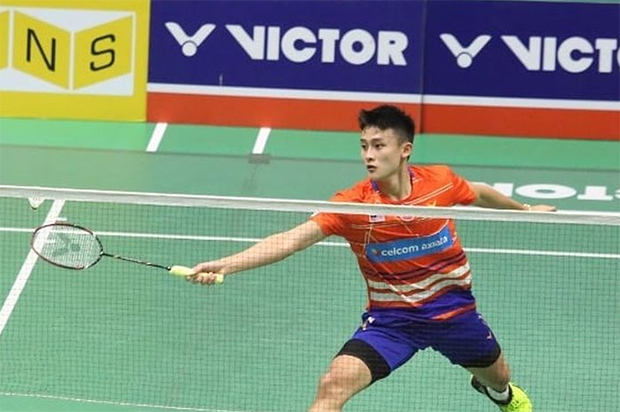 Lim Chong King definitely has a bright badminton career ahead of him! (photo: Bernama)