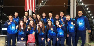 Malaysia's badminton team depart for the 2019 World Championships in Basel, Switzerland. (photo: BAM)