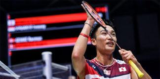Kento Momota is set to face Chen Long in the China Open semi-final. (photo: Xinhua)