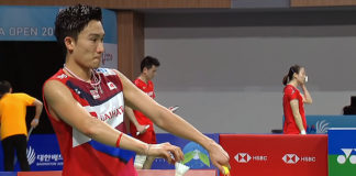 Kento Momota is currently the king of men's singles.