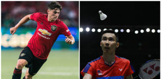 Manchester United player, Daniel James, says he's a big fan of Lee Chong Wei!