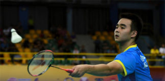 Soong Joo Ven enters Indonesia Masters semis. (photo: Robertus Pudyanto/Getty Images)