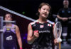 Nozomi Okuhara (R) beats Carolina Marin to enter the Denmark Open final. (photo: Shi Tang/Getty Images)