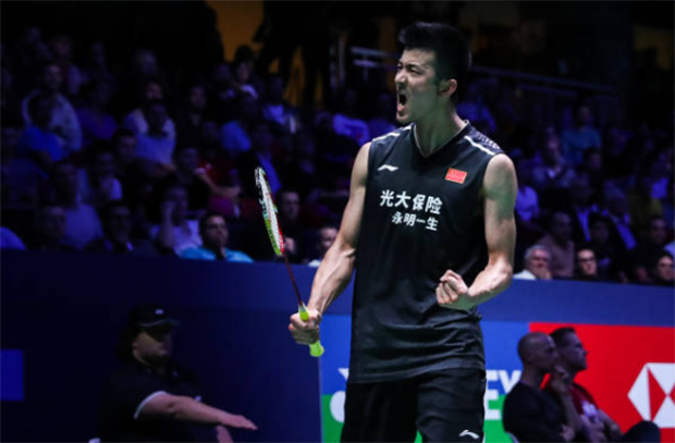 Chen Long storms into the French Open quarter-final. (photo: Shi Tang/Getty Images)