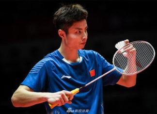 Shi Yuqi advances to the Macau Open quarter-final. (photo: AFP)