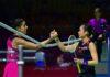 Tai Tzu Ying defeats Carolina Marin in the Fuzhou China Open first round. (photo: Xinhua)
