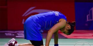 Tai Tzu Ying withdraws from Fuzhou China Open due to knee injury. (photo: Xinhua)