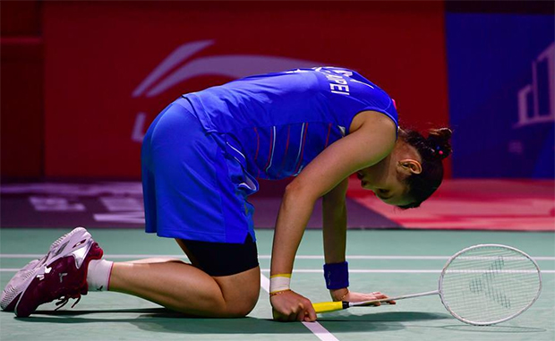 Tai Tzu Ying withdraws from Fuzhou China Open due to knee injury. (photo: Xinhua)