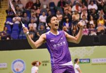 Chou Tien Chen roars past Parupalli Kashyap in Hong Kong Open second round. (photo: Hong Kong Open)
