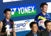 Lin Dan (left) plays too slow in the final compare to Kanta Tsuneyama.